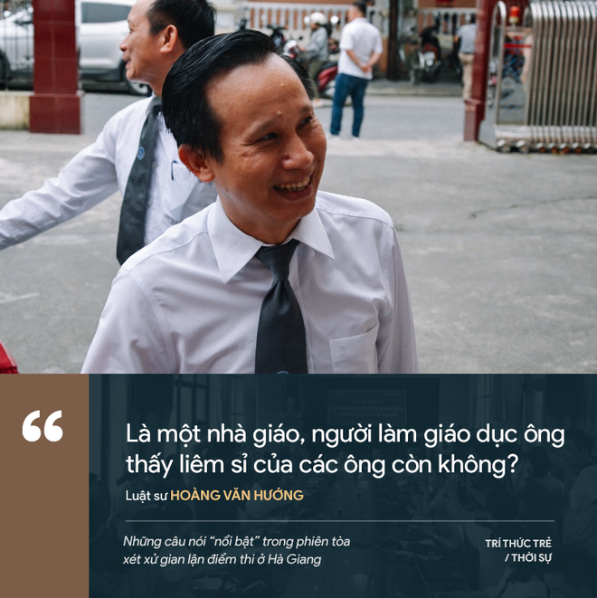 Cựu GĐ Sở Giáo dục Hà Giang nói không ăn nổi cơm và những phát ngôn đáng chú ý trong phiên xử gian lận điểm thi - Ảnh 3.