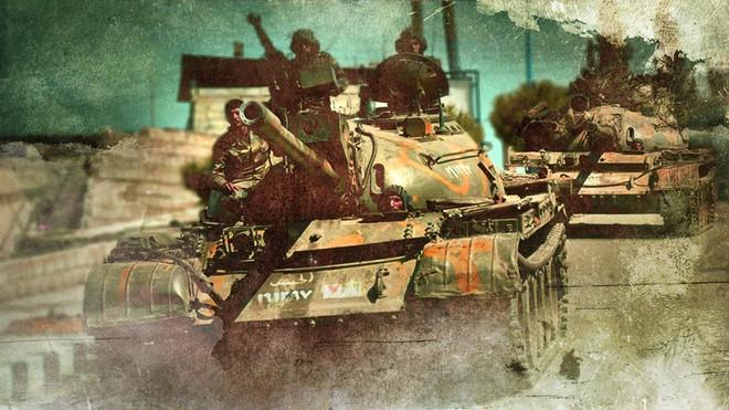 Thổ Nhĩ Kỳ chịu tổn thất lớn đầu tiên ở Syria - Tàu chiến Nga ồ ạt phóng tên lửa Kalibr tới sát biên giới Israel? - Ảnh 25.