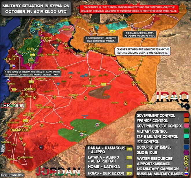 Thổ Nhĩ Kỳ chịu tổn thất lớn đầu tiên ở Syria - Tàu chiến Nga ồ ạt phóng tên lửa Kalibr tới sát biên giới Israel? - Ảnh 1.