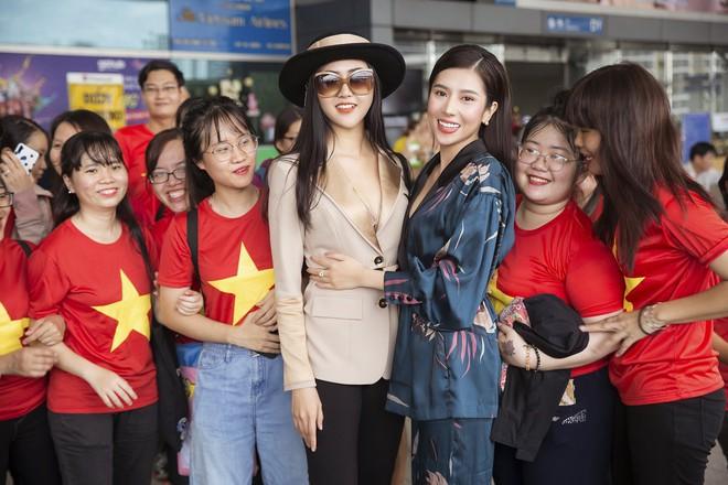 Dương Yến Nhung mang 120kg hành lý dự thi Hoa hậu du lịch thế giới - Ảnh 6.