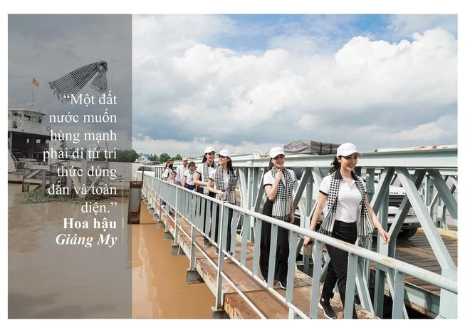 Những câu nói ấn tượng của người đẹp Việt khi tặng sách tại Đồng bằng Sông Cửu Long - Ảnh 2.