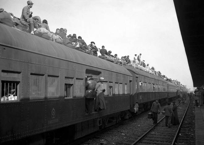 Hình ảnh Trung Quốc 70 năm trước: Những khoảnh khắc còn ám ảnh cho tới ngày nay - Ảnh 9.