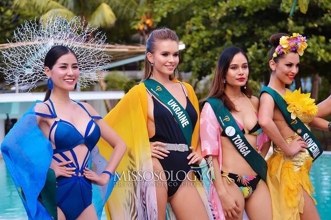 Đại diện Việt Nam giành huy chương vàng đầu tiên tại Hoa hậu Trái đất 2019 - Ảnh 3.