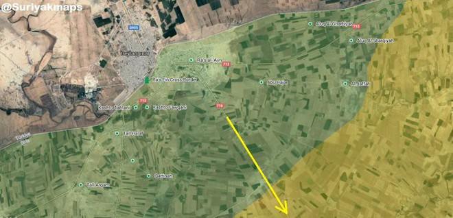 Tháng 10 đen: Ras al-Ain sụp đổ, dân chạy theo quân Mỹ, lính Kurd chĩa súng bắt ở lại? - ảnh 2