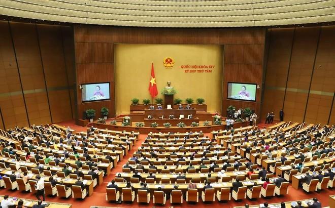 Đoàn đại biểu viếng Lăng Chủ tịch Hồ Chí Minh trước giờ khai mạc kỳ họp Quốc hội - Ảnh 11.