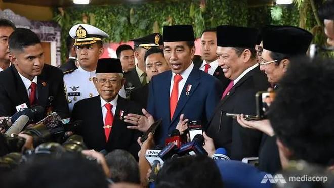 Tổng thống Indonesia nhậm chức nhiệm kỳ thứ hai - Ảnh 1.