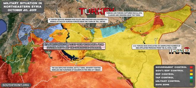 Thổ Nhĩ Kỳ nuốt lời, đột ngột tấn công SDF - Chiến sự Syria căng như dây đàn - Ảnh 27.