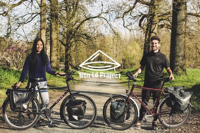 Cung đường tình yêu đạp xe từ nhà anh về nhà em của chàng trai Pháp và cô gái Việt: 6 tháng đi qua 12 nước, chồng vừa ngỏ lời vợ đồng ý cái rụp - ảnh 4