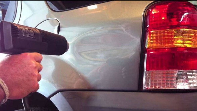 Cách khắc phục các vết lõm trên xe ô tô hiệu quả nhất - Ảnh 2.