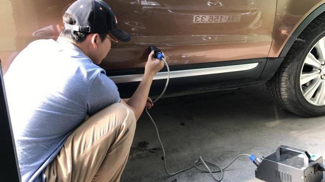 Cách khắc phục các vết lõm trên xe ô tô hiệu quả nhất - Ảnh 3.