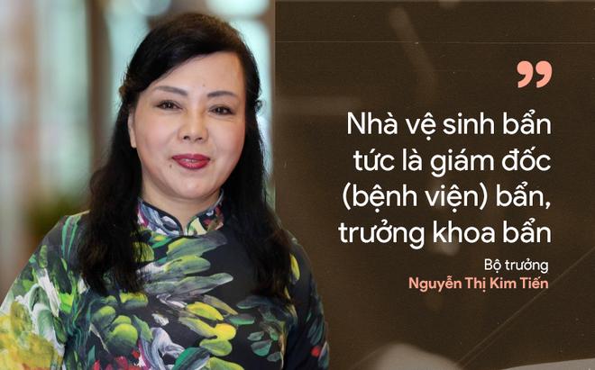 9 câu nói ấn tượng của Bộ trưởng Y tế Nguyễn Thị Kim Tiến - Ảnh 11.