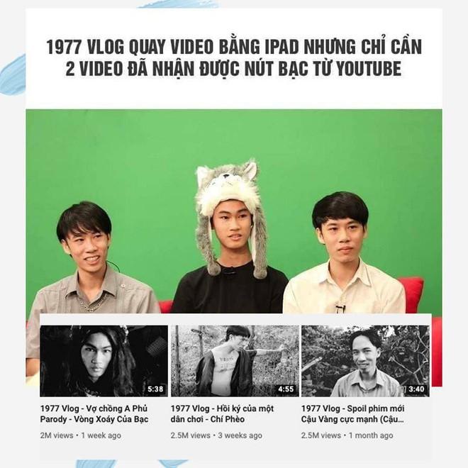 Bất ngờ trở thành hiện tượng youtube, Hoàng Mập chỉ ra sự khôn ngoan của nhóm 1977 Vlog - ảnh 3