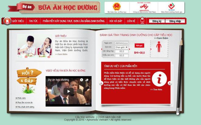 33 trường tiểu học tỉnh Tuyên Quang áp dụng Dự án Bữa ăn học đường