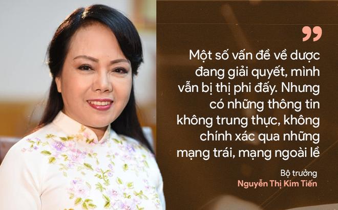 9 câu nói ấn tượng của Bộ trưởng Y tế Nguyễn Thị Kim Tiến - Ảnh 1.