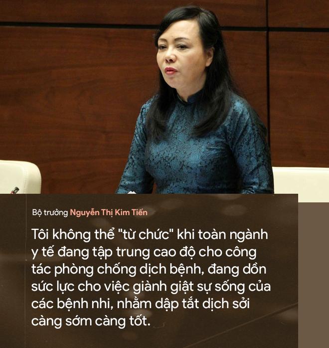 9 câu nói ấn tượng của Bộ trưởng Y tế Nguyễn Thị Kim Tiến - Ảnh 3.