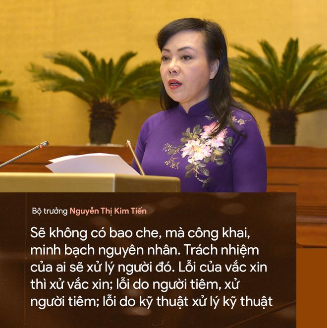 9 câu nói ấn tượng của Bộ trưởng Y tế Nguyễn Thị Kim Tiến - Ảnh 7.