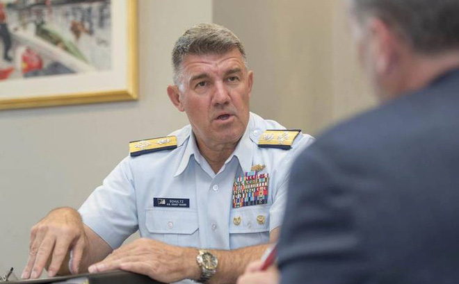 """Đô đốc Mỹ tố Trung Quốc """"nói một đằng làm một nẻo"""" ở Biển Đông"""