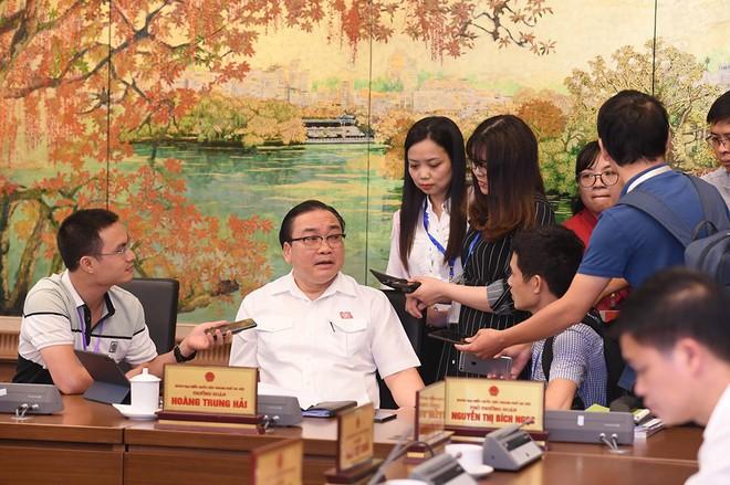 Bí thư Hoàng Trung Hải: Hà Nội 10 triệu dân mà để xảy ra ô nhiễm nước sông Đà là rất đáng tiếc - Ảnh 1.