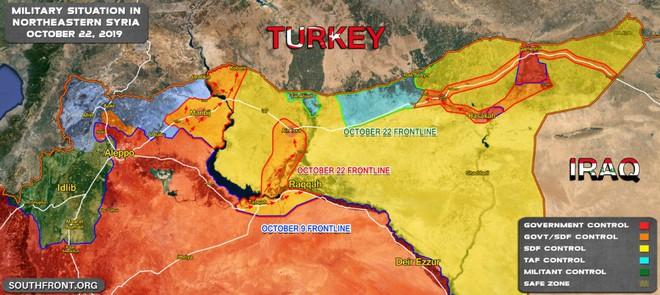 Đêm nay, chiến sự kinh thiên động địa sẽ nổ ra ở miền Bắc Syria? - Mỹ gây sốc dọa tấn công Thổ - Ảnh 3.