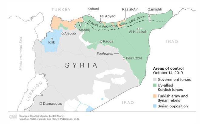 Xe quân sự Nga rầm rập tiến về Đông Bắc Syria - Người Kurd không rút nhanh sẽ bị đánh tơi tả - Ảnh 25.