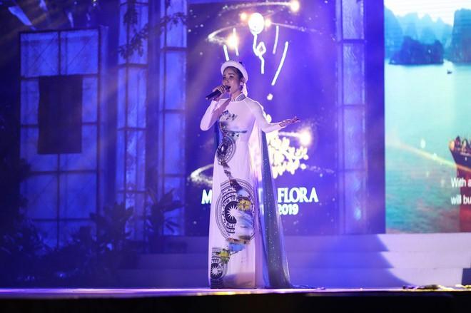 Giành huy chương đồng Người đẹp thân thiện, Hoàng Hạnh lọt top 5 Miss Earth 2019 - Ảnh 1.