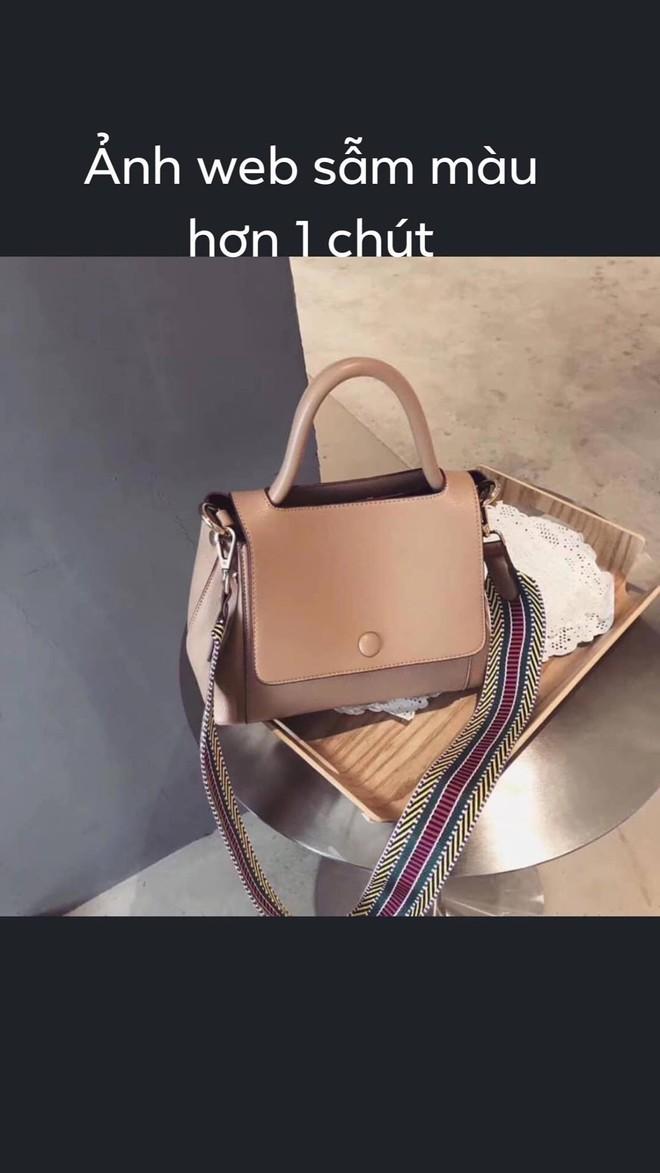 """Chiếc túi gây tranh cãi khắp MXH: Khách """"tố"""" hàng thật khác mẫu, chủ shop khẳng định giống 100% - ảnh 2"""
