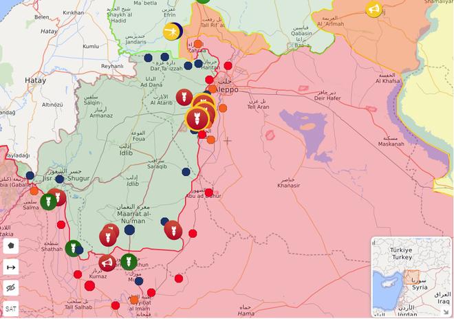 Xe quân sự Nga rầm rập tiến về Đông Bắc Syria - Người Kurd không rút nhanh sẽ bị đánh tơi tả - Ảnh 9.