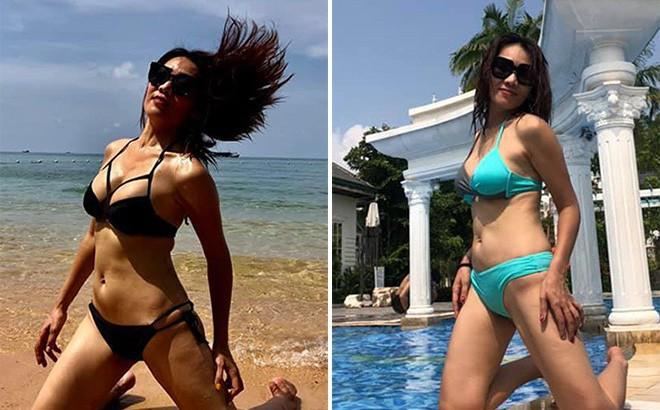 Loạt ảnh bikini nóng bỏng của ca sĩ 41 tuổi, nổi tiếng một thời