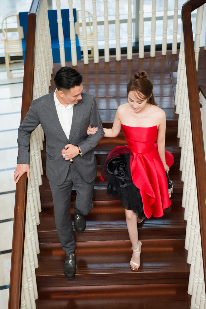 Quỳnh Nga xinh đẹp, gợi cảm sánh bước cùng Chí Nhân - Ảnh 9.