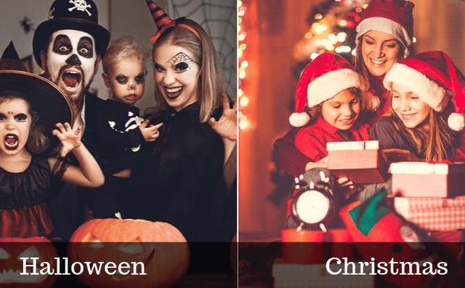 Bạn thích Halloween hay Giáng sinh, đáp án tiết lộ tính cách rất thú vị ở bạn: Đó là gì?