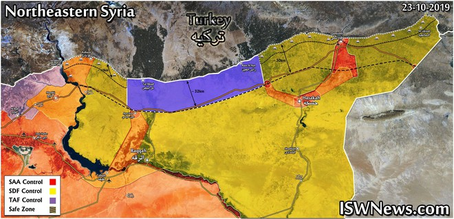 CẬP NHẬT: Quân đội Syria bất ngờ nhận món quà từ trên trời rơi xuống do Thổ và Mỹ dâng tặng - Ảnh 16.