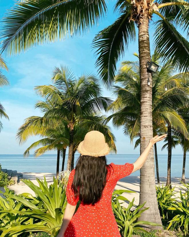 Người mẫu nội y xứ Hàn xinh tươi giữa biển trời Phú Quốc - Ảnh 4.