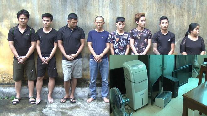 Ổ nhóm chuyên đột nhập vào trường học và cả nghĩa trang để trộm - Ảnh 1.