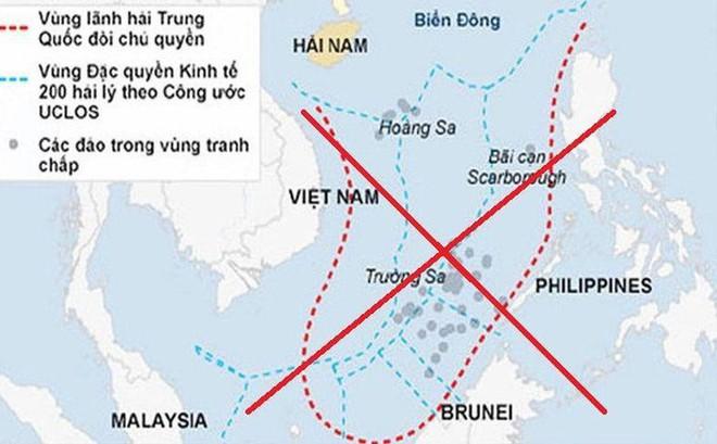 """Cảnh giác với """"đường lưỡi bò"""" và bẫy pháp lý tinh vi của Trung Quốc"""