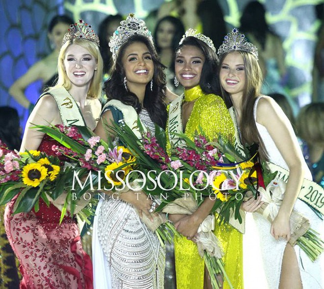 Nhan sắc quyến rũ của người đẹp giúp Puerto Rico lần đầu chiến thắng tại Hoa hậu Trái đất - Ảnh 2.
