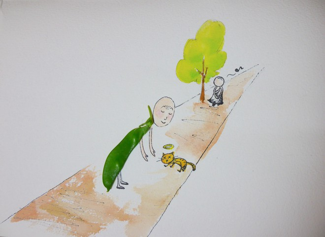 Sai 2 môn đồ đi xin dưa với 2 kết quả khác nhau, Đức Phật nói lý do khiến họ ngỡ ngàng - Ảnh 2.