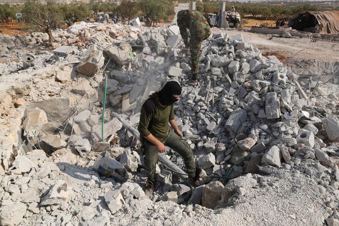Cận cảnh địa điểm lẩn trốn không ai ngờ tới của trùm IS al-Baghdadi trước lúc bị tiêu diệt - Ảnh 5.
