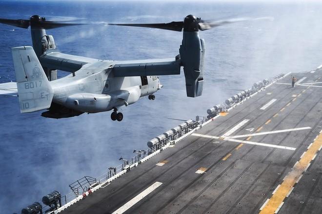 Trực thăng siêu 'dị' V-22 Mỹ có mặt trong chiến dịch tiêu diệt trùm khủng bố IS? - ảnh 10