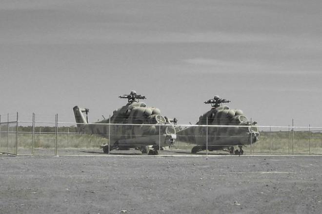 Máy bay trực thăng Mi-24 Nga bị ném ra bãi rác ở Australia: Bí ẩn đã có lời giải - Ảnh 1.