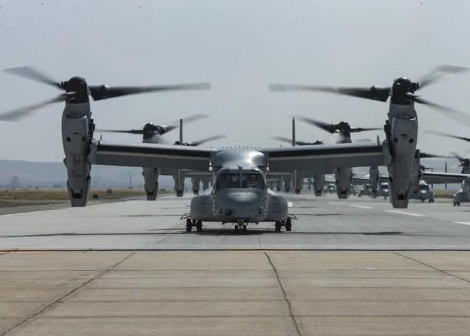 Trực thăng siêu 'dị' V-22 Mỹ có mặt trong chiến dịch tiêu diệt trùm khủng bố IS? - ảnh 12
