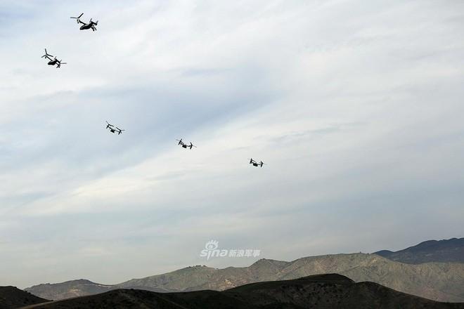 Trực thăng siêu 'dị' V-22 Mỹ có mặt trong chiến dịch tiêu diệt trùm khủng bố IS? - ảnh 14