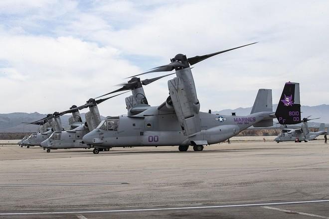 Trực thăng siêu 'dị' V-22 Mỹ có mặt trong chiến dịch tiêu diệt trùm khủng bố IS? - ảnh 15