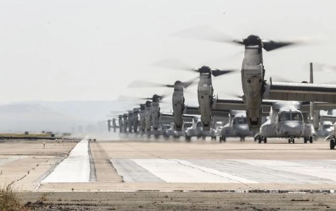Trực thăng siêu 'dị' V-22 Mỹ có mặt trong chiến dịch tiêu diệt trùm khủng bố IS? - ảnh 6