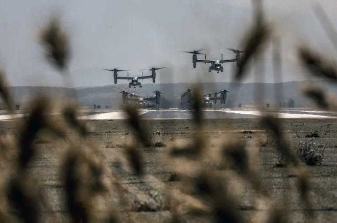 Trực thăng siêu 'dị' V-22 Mỹ có mặt trong chiến dịch tiêu diệt trùm khủng bố IS? - ảnh 7