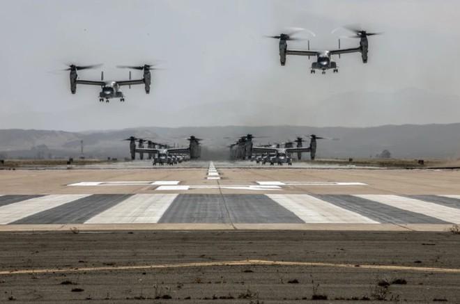 Trực thăng siêu 'dị' V-22 Mỹ có mặt trong chiến dịch tiêu diệt trùm khủng bố IS? - ảnh 8