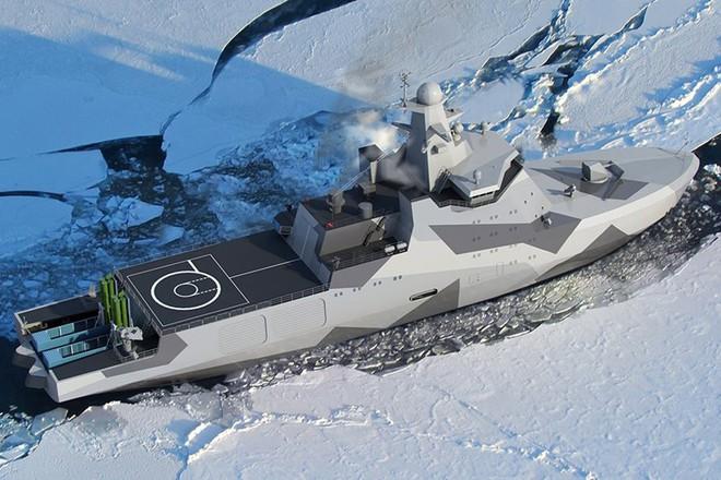 Tàu phá băng Nga nhanh chân thâu tóm Bắc Cực bằng vũ khí độc nhất vô nhị - Ảnh 2.
