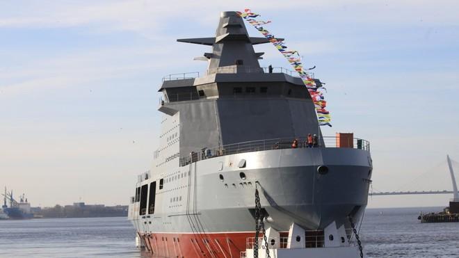 Tàu phá băng Nga nhanh chân thâu tóm Bắc Cực bằng vũ khí độc nhất vô nhị - Ảnh 1.
