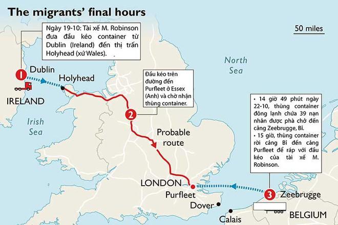 Ba câu hỏi lớn vụ 39 thi thể trong container ở Anh - ảnh 3
