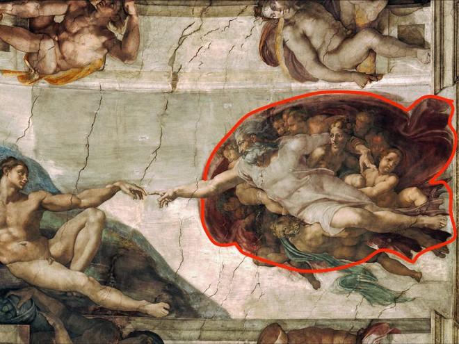 Bí ẩn thông điệp được ẩn giấu trong các bức tranh cổ nổi tiếng - Ảnh 3.