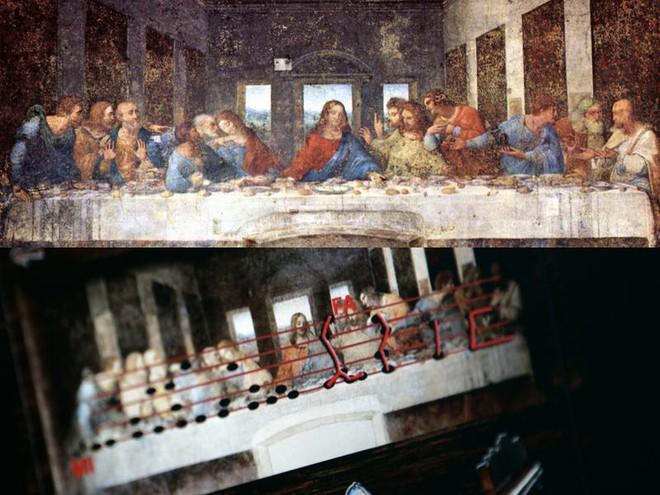 Bí ẩn thông điệp được ẩn giấu trong các bức tranh cổ nổi tiếng - Ảnh 5.